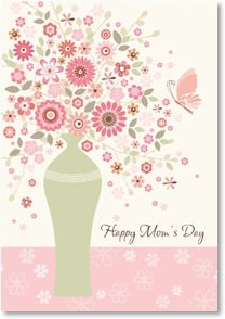 Mother's Day Card - May it be blessed & beautiful--like you!; Psalm 85:12 | Hilary Yafai | 2002534-P | Leanin' Tree