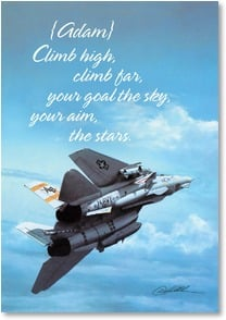 Graduation Card - Graduation from Naval Aviation School! | Danny Hahlbohm | 2002573-P | Leanin' Tree