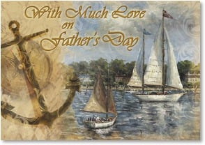 Father's Day Card - You have served as my guiding star | Carpentree | 2002595-P | Leanin' Tree