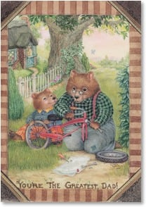 Father's Day Card - The very best Pappa Bear! | Susan Wheeler | 2002616-P | Leanin' Tree