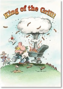 Father's Day Card - You rule, Dad! | Gary Patterson | 2002626-P | Leanin' Tree