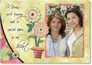 Mother's Day Card - A special place in my heart. | Connie Haley | 2002682-P | Leanin' Tree