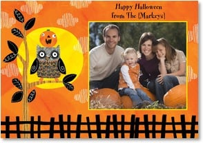 Halloween Card - Hope your day's a real hoot! | Ellen Krans | 2002691-P | Leanin' Tree