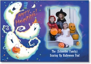Halloween Card - We just wanted to say, 'Boo'! | Viv Eisner | 2002708-P | Leanin' Tree