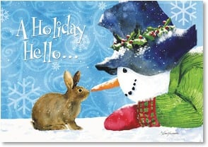 Holiday Card - A season filled with heart-warming joys | Barb Tourtillotte | 2002712-P | Leanin' Tree