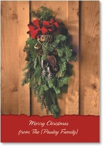 Christmas Card {Name} - Warmly remembering you  | Christopher Marona | 2002726-P | Leanin' Tree