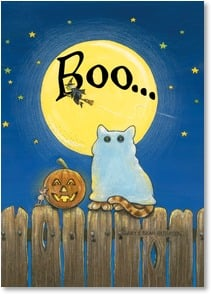 Halloween Card - ...to you! Happy Halloween!  | Gary Patterson | 2002754-P | Leanin' Tree