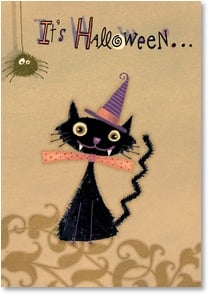 Halloween Card - I vant to vish you a very happy one! | Viv Eisner | 2002762-P | Leanin' Tree