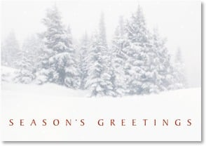 Holiday Card - May peace and joy be with you. | Fotosearch | 2002806-P | Leanin' Tree