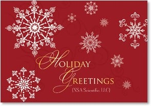Holiday Card {Name} - May peace and joy be with you this year | LT Studio | 2002808-P | Leanin' Tree