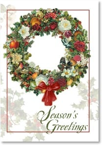 Holiday Card - Warm Holiday Greetings and Best Wishes | Tina Higgins | 2002822-P | Leanin' Tree