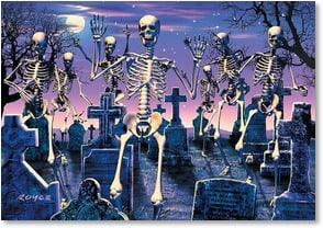 Halloween Card - Enough Halloween fun to wake the dead! | Royce B. McClure | 2002850-P | Leanin' Tree