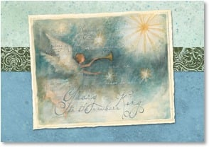 Christmas Card - Glory to God in the Highest | Susan Winget | 2002853-P | Leanin' Tree