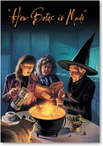 Halloween Card - Have an extra-smooth time this Halloween | Jim Warren | 2002864-P | Leanin' Tree