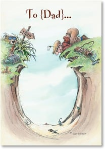 Father's Day Card - ...how to handle any obstacle! | Gary Patterson | 2002870-P | Leanin' Tree