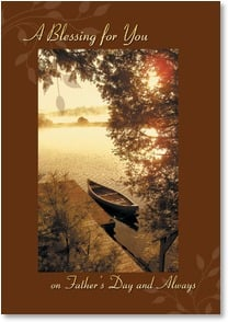 Father's Day Card - The Light of the World; Matthew 5:14  | Cindy McIntyre | 2002879-P | Leanin' Tree