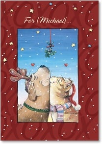 Christmas Card - Here's to making merry with you! | Gary Patterson | 2002887-P | Leanin' Tree