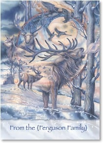 Christmas Card - May peace and harmony be yours, this Christmas and always. | Jody Bergsma | 2002892-P | Leanin' Tree