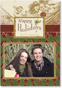 Holiday Card {Name} - Warmest Thoughts and Holiday Wishes | Terri Conrad | 2002895-P | Leanin' Tree