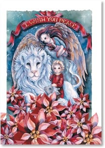 Christmas Card - May the love you give away return to you | Jody Bergsma | 2002912-P | Leanin' Tree