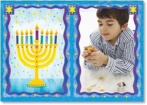 Hanukkah Card - May hope grow brighter and love increase | Bee Sturgis | 2002925-P | Leanin' Tree