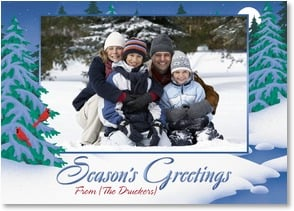 Holiday Card - Warmest Wishes for a Festive Holiday | Designs by Current | 2002938-P | Leanin' Tree