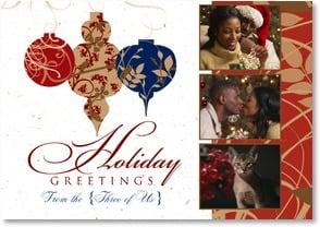 Holiday Card {Name} - Joy, Hope & Gladness | LT Studio | 2002945-P | Leanin' Tree