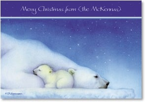Christmas Card - May you be Warm and Happy on the Inside | Tracy Ann Herrmann | 2002967-P | Leanin' Tree