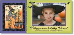 Halloween Card - A Most Bewitching Halloween | Lakeside Design | 2003027-P | Leanin' Tree