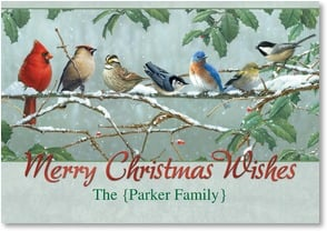 Christmas Card - A Gathering of Merry Holiday Moments | James Hautman | 2003037-P | Leanin' Tree