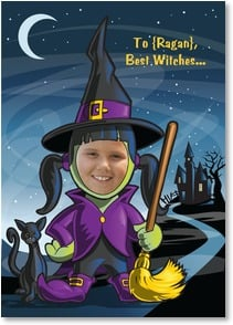 Halloween Card - Best Witches for a Happy Halloween! | Brant Nicholason | 2003040-P | Leanin' Tree