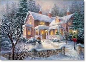 Christmas Card - It's the perfect time of year to send you warm wishes. | Nicky Boehme | 2003060-P | Leanin' Tree