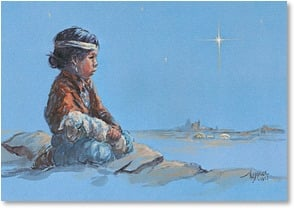 Christmas Card - Love as a Child Loves | Vel Miller | 2003065-P | Leanin' Tree