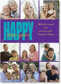 New Year's Day Card - Wishes for a Great New Year! | LT Studio | 2003100-P | Leanin' Tree