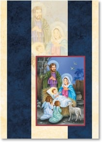 Christmas Card - Th Word became flesh; John 1:14 | Interlitho Licensing | 2003138-P | Leanin' Tree