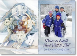 Holiday Card - Peace on Earth | Jody Bergsma | 2003171-P | Leanin' Tree