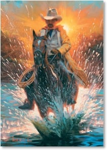 Birthday Card - A Splash of Fun!; Ephesians 3:19 | Mark Keathley | 2003236-P | Leanin' Tree