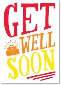 Get Well Card - No pressure.  I know you and your doctor are working on it. | WitSend™ | 2003280-P | Leanin' Tree