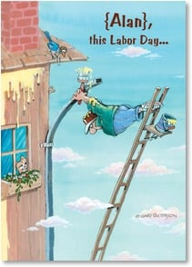 Labor Day Card - This Labor Day maybe it's best to just sit back and relax. | Gary Patterson | 2003299-P | Leanin' Tree