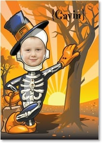 Halloween Card {Name} - Hope you have a Halloween that tickles your funny bone! | Brant Nicholason | 2003318-P | Leanin' Tree
