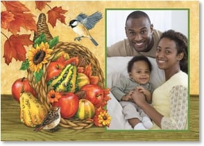 Thanksgiving Card - The season to harvest friendship, gratitude and hope. | Jane Maday | 2003322-P | Leanin' Tree