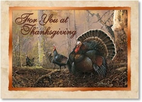 Thanksgiving Card - May you always have much to be thankful for... | Ted Blaylock | 2003330-P | Leanin' Tree