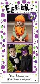 Halloween Card {Name} - Purple Spider | LT Studio | 2003339-P | Leanin' Tree