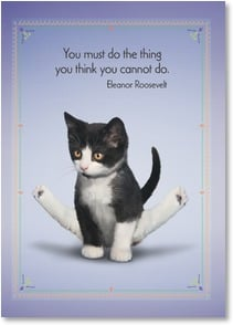 Encouragement & Support Card - You've Got This...I Believe in You! | Yoga Dogs®/Yoga Cats | 2003361-P | Leanin' Tree