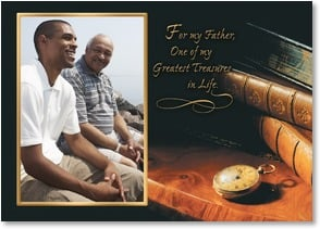 Father's Day Card - So thankful for the greatest gift you've given...your time. | Getty Images | 2003394-P | Leanin' Tree