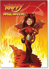 Halloween Card - For the guy who brings out the true devil in me! | Brant Nicholason | 2003398-P | Leanin' Tree
