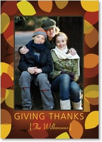 Thanksgiving Card - May Your Day Be A Gathering of Thankfulness and Joy! | LT Studio | 2003401-P | Leanin' Tree