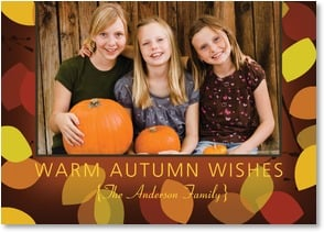 Thanksgiving Card {Name} - Joy and Memories As Sweet as the Season | LT Studio | 2003402-P | Leanin' Tree