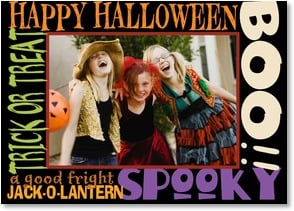 Halloween Card - Hope you scare up a great time this Halloween! | LT Studio | 2003439-P | Leanin' Tree