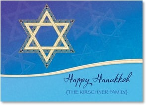 Hanukkah Card - Shalom and Warm Wishes for a Wonderful Hanukkah | LT Studio | 2003442-P | Leanin' Tree